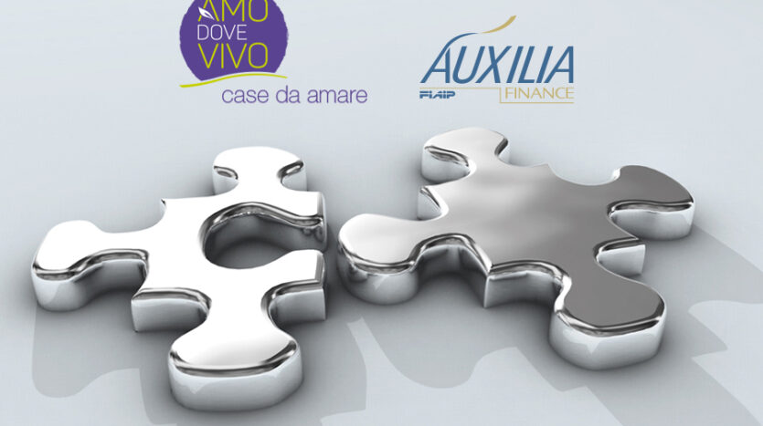 Auxilia Finance e Amo dove Vivo
